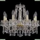 1403/8/160/G Хрустальная подвесная люстра Bohemia Ivele Crystal (Богемия)