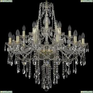 1415/12+6+3/300/G Хрустальная подвесная люстра Bohemia Ivele Crystal (Богемия)