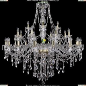 1415/16+8+4/460-132/G Хрустальная люстра Bohemia Ivele Crystal (Богемия)