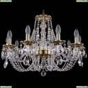 1606/10/240/GB Хрустальная подвесная люстра Bohemia Ivele Crystal (Богемия)