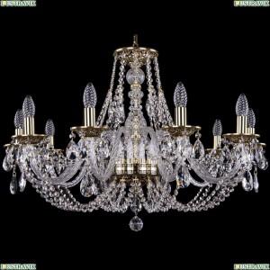 1606/10/300/GB Хрустальная подвесная люстра Bohemia Ivele Crystal (Богемия)