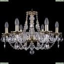 1606/6/195/GB Хрустальная подвесная люстра Bohemia Ivele Crystal (Богемия)