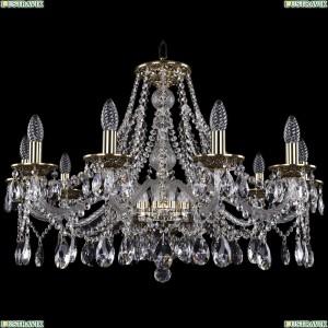 1613/10/300/GB Хрустальная подвесная люстра Bohemia Ivele Crystal (Богемия)