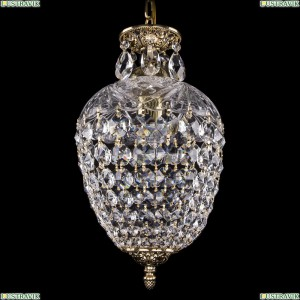 1677/22/GB Хрустальная подвесная люстра (подвес) Bohemia Ivele Crystal (Богемия)