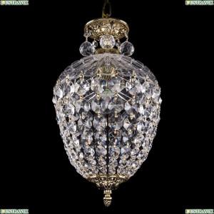 1677/22/GB/Balls Хрустальная подвесная люстра (подвес) Bohemia Ivele Crystal (Богемия)