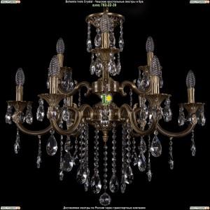 1702/6+3/265+181/B/FP Хрустальная люстра Bohemia Ivele Crystal (Богемия)