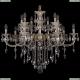 1702/7+7/300+150/B/GW Хрустальная подвесная люстра Bohemia Ivele Crystal (Богемия)