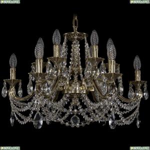 1703/12/225/C/GB Хрустальная подвесная люстра Bohemia Ivele Crystal (Богемия)