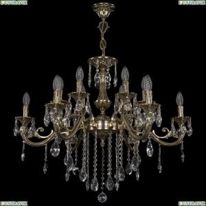 1703/12/320/B/GB Хрустальная подвесная люстра Bohemia Ivele Crystal (Богемия)