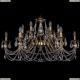 1703/12/360/C/FP Хрустальная подвесная люстра Bohemia Ivele Crystal (Богемия)