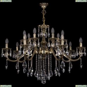 1703/14/360/B/GB Хрустальная подвесная люстра Bohemia Ivele Crystal (Богемия)