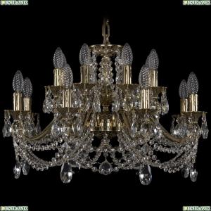 1703/16/225/C/GB Хрустальная подвесная люстра Bohemia Ivele Crystal (Богемия)