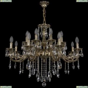 1703/16/320/B/GB Хрустальная подвесная люстра Bohemia Ivele Crystal (Богемия)