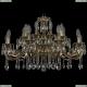 1703/20/320/A/GB Хрустальная подвесная люстра Bohemia Ivele Crystal (Богемия)