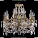1702/10/CK125IV/C/G Хрустальная подвесная люстра Bohemia Ivele Crystal (Богемия)