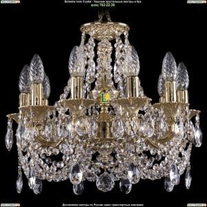 1707/10/125/C/GD Хрустальная люстра Bohemia Ivele Crystal (Богемия)