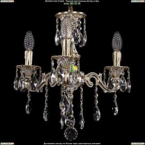 1707/3/125/B/GW Хрустальная люстра Bohemia Ivele Crystal (Богемия)