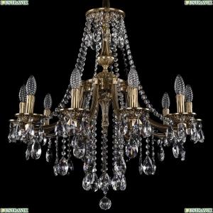 1771/10/220/B/FP Хрустальная подвесная люстра Bohemia Ivele Crystal (Богемия)