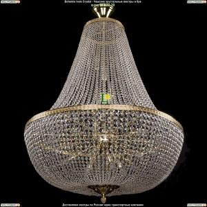 2150/100/GD Хрустальная люстра большая Bohemia Ivele Crystal (Богемия)