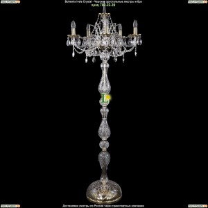 5211/5/195-160/GB Хрустальный торшер Bohemia Ivele Crystal (Богемия)