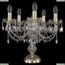1406L/5/141-39/G Хрустальная настольная лампа Bohemia Ivele Crystal (Богемия)