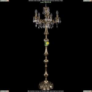 7000/5/125-134/A/GB Хрустальный торшер Bohemia Ivele Crystal (Богемия)