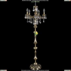 7000/5/125-134/B/GB Хрустальный торшер Bohemia Ivele Crystal (Богемия)