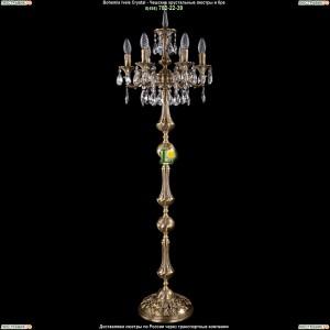7000/6/125-134/A/FP Хрустальный торшер Bohemia Ivele Crystal (Богемия)