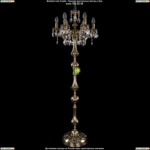 7000/6/125-134/A/GB Хрустальный торшер Bohemia Ivele Crystal (Богемия)