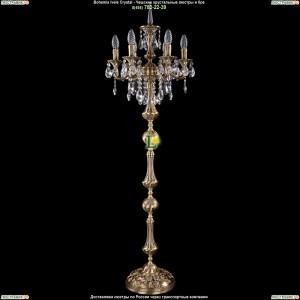 7000/6/125-134/B/FP Хрустальный торшер Bohemia Ivele Crystal (Богемия)
