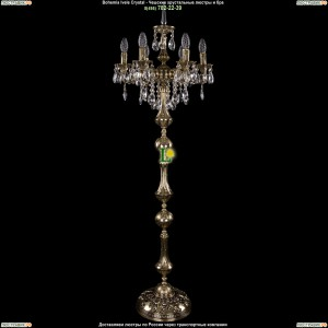 7000/6/125-134/B/GB Хрустальный торшер Bohemia Ivele Crystal (Богемия)