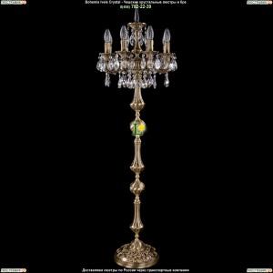 7000/8/125-134/A/FP Хрустальный торшер Bohemia Ivele Crystal (Богемия)