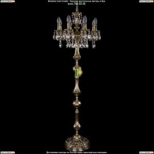 7000/8/125-134/A/GB Хрустальный торшер Bohemia Ivele Crystal (Богемия)