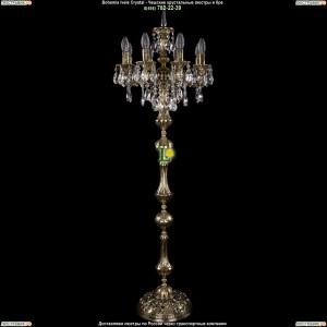 7000/8/125-134/B/GB Хрустальный торшер Bohemia Ivele Crystal (Богемия)