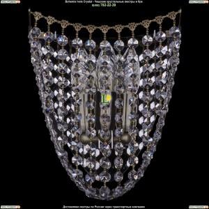 7708/3/S/Pa Хрустальная бра Bohemia Ivele Crystal (Богемия)