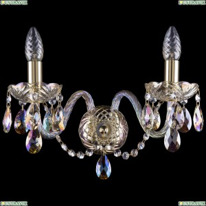 1400/2/160/G/M701 Хрустальное бра Bohemia Ivele Crystal (Богемия)