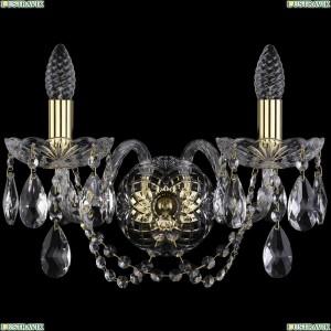 1400/2/165/XL/G Хрустальное бра Bohemia Ivele Crystal (Богемия)