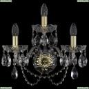 1402B/2+1/160/XL/G Хрустальное бра Bohemia Ivele Crystal