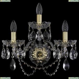 1400/3/165/XL/G Хрустальное бра Bohemia Ivele Crystal (Богемия)