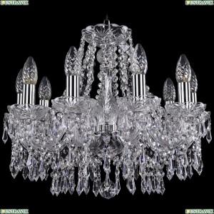 1403/10/160/Ni Хрустальная подвесная люстра Bohemia Ivele Crystal (Богемия)