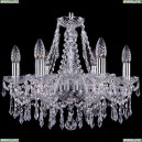 1403/6/160/Ni Хрустальная подвесная люстра Bohemia Ivele Crystal (Богемия)