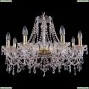 1403/8/240/G Хрустальная подвесная люстра Bohemia Ivele Crystal (Богемия)