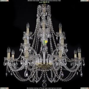 1406/8+4+4/300-89/G Хрустальная подвесная люстра Bohemia Ivele Crystal (Богемия)