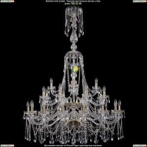 1413/16+8+4/400-160/2d/G Большая подвесная хрустальная люстра Bohemia Ivele Crystal (Богемия)