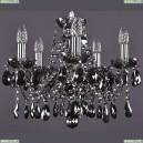 1413/5/141/Ni/M781 Хрустальная подвесная люстра Bohemia Ivele Crystal (Богемия)