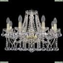 1413/8/200/G/Balls Хрустальная подвесная люстра Bohemia Ivele Crystal (Богемия)