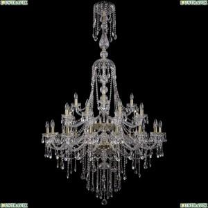 1415/16+8+4/400-185/2d/G Хрустальная подвесная большая люстра Bohemia Ivele Crystal (Богемия)
