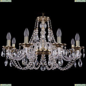 1606/8/240/GB Хрустальная подвесная люстра Bohemia Ivele Crystal (Богемия)