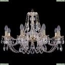 1606/8/240/GW Хрустальная подвесная люстра Bohemia Ivele Crystal (Богемия)