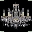 1613/6/165/GW Хрустальная подвесная люстра Bohemia Ivele Crystal (Богемия)
